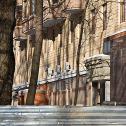 """Кто-то уже ремонт делает... Жилой комплекс """"Доминанта"""", Щукинская ул, вл. 2/4, ЗАО «Баркли» : Москва"""
