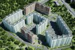 Комплекс на углу ул. Бадаева и ул. Коллонтай - новостройка в Санкт-Петербурге