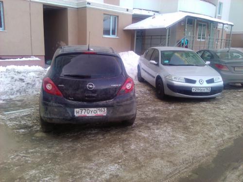 Очередные короли парковки.