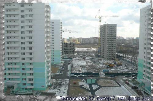 Краснодар. ул.Зиповская,37. литер 7. февр 2011_строит ОБД.