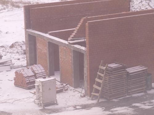 Наша ТП, которая строиться вот уже полгода.