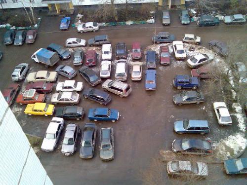 даешь парковку во дворе!!! )))