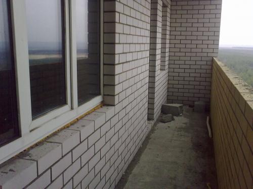 балкон двушка 62 м
