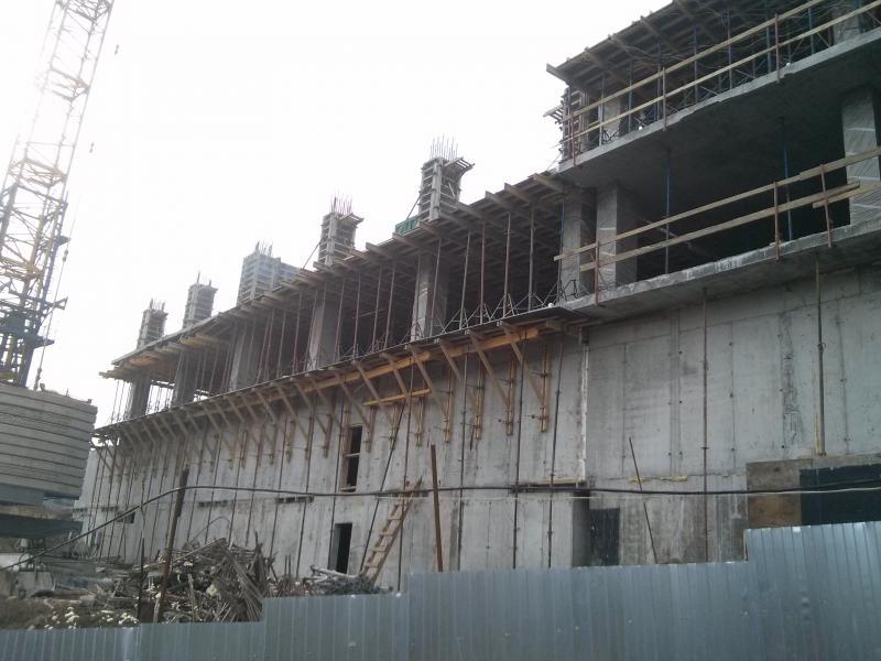 Заливка 4этажа 06.02.2015